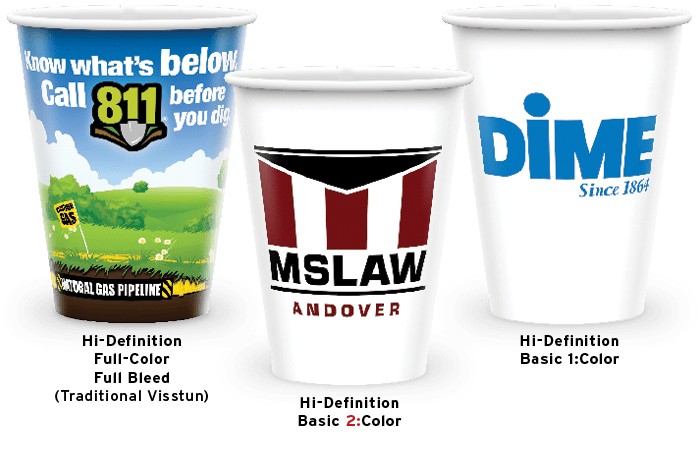 Hi-Definition Printed Cups